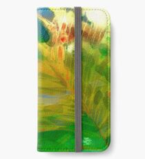 Abstract Palm Art iPhone Wallet/Case/Skin