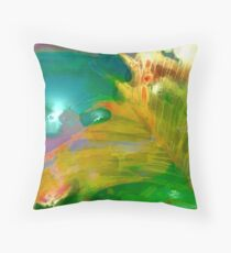 Abstract Palm Art Throw Pillow