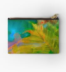 Abstract Palm Art Studio Pouch