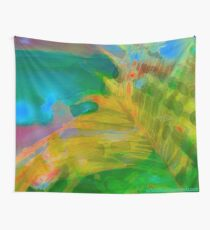 Abstract Palm Art Wall Tapestry