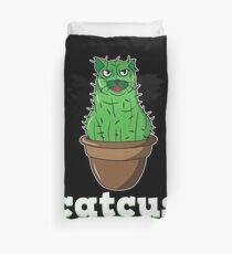 Catcus Cactus Katze Bettbezug