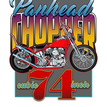Panhead Chopper by limey57