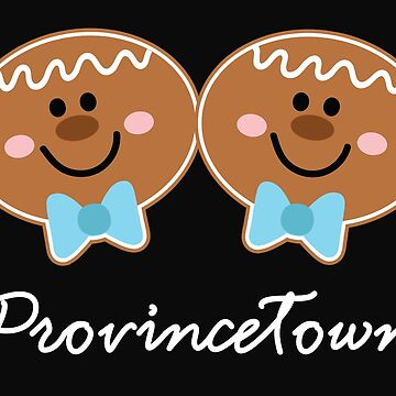 Provincetown Gingerbread Cookie Boys by WigOutlet