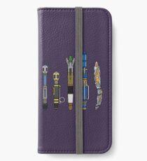 Sonic Screwdriver Lineup iPhone Wallet/Case/Skin