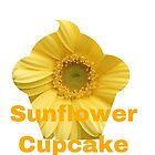 Sunflower cupcake by Maria Vincent