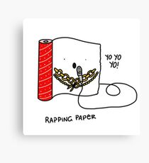 Rapping Paper Canvas Print