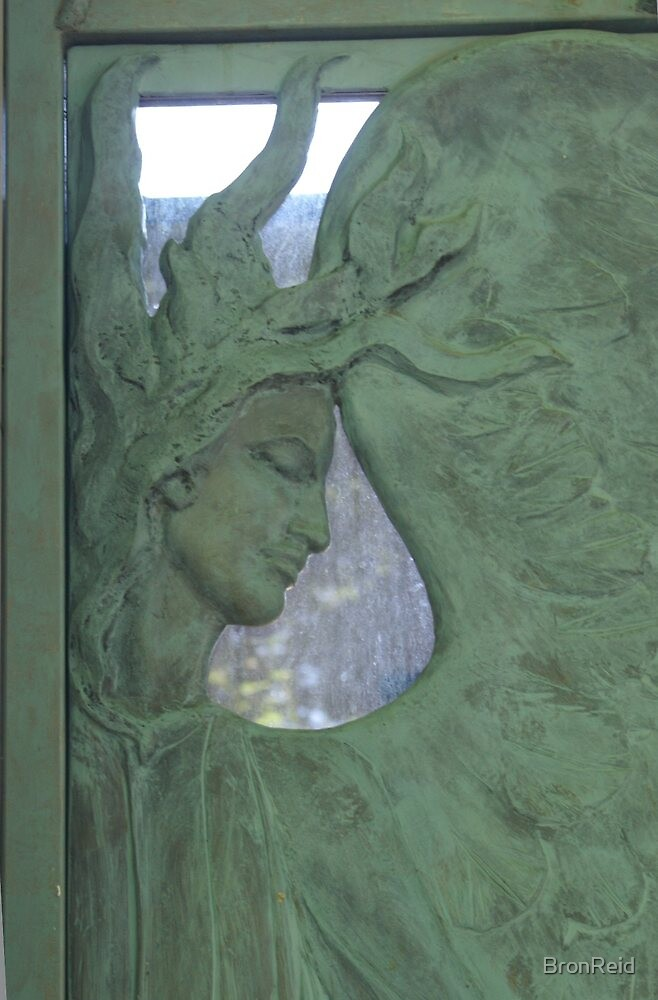Pere Lachaise, Paris - family crypt detail by BronReid