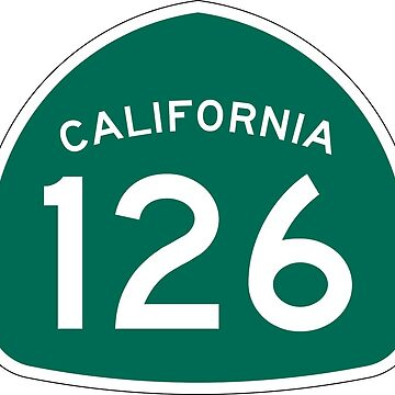California State Route 126 by Joeybab3