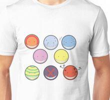 korosensei Assasination Classrom All Faces Unisex T-Shirt