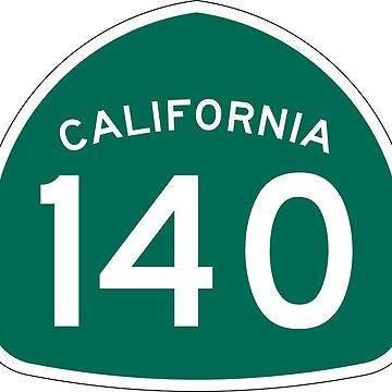 California State Route 140 by Joeybab3