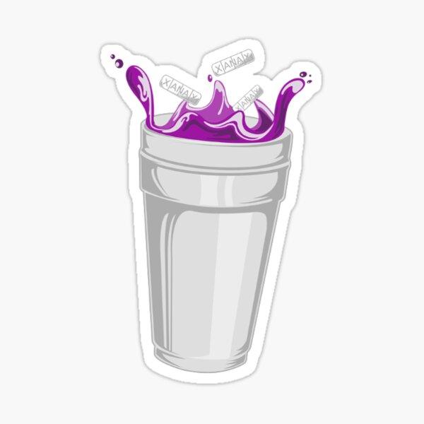 Purple Drank Sticker Sticker