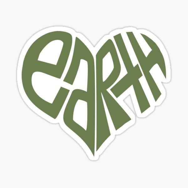 Love The Earth. Sticker