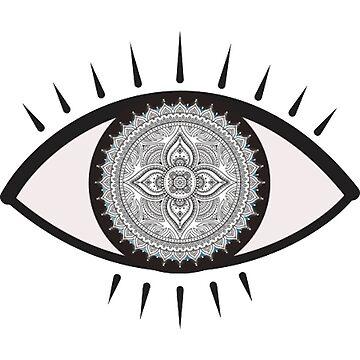 Mandala Eye de charlo19