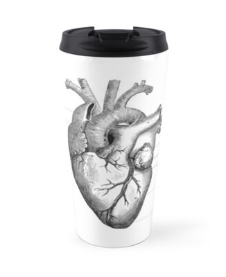 Anatomy of the Human Heart by PatchworkBox