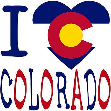 I Heart Colorado by dgpaul