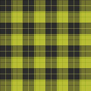 Simple tartan pattern in light yellow by pASob-dESIGN