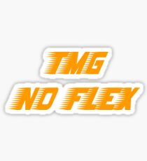 No Flex TMG Sticker