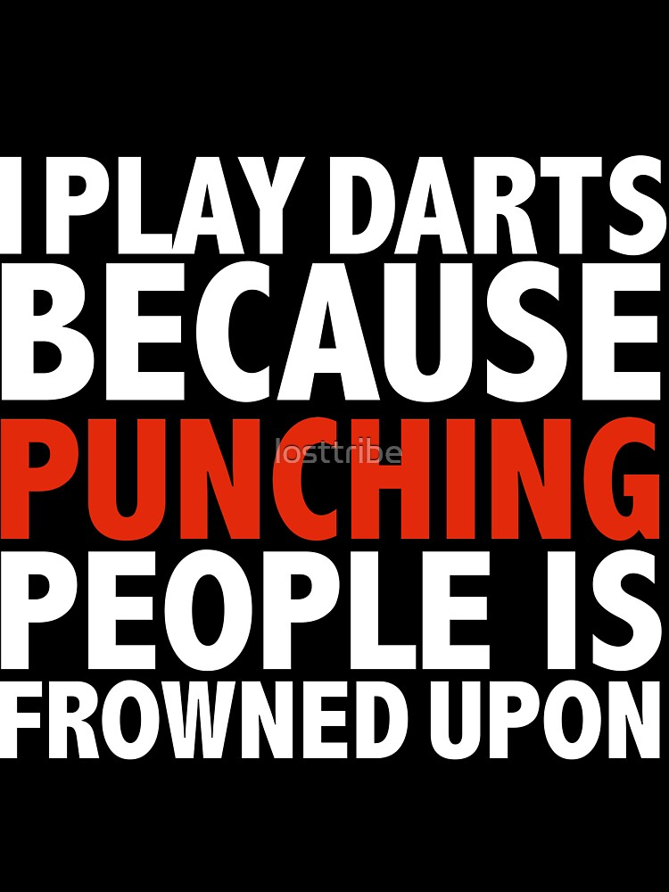 I Play Darts I Play Cricket Because Punching People Is Frowned Upon Baby One Piece