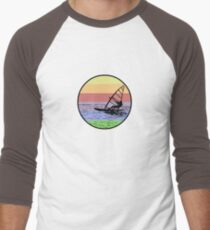 Windsurfing Men's Baseball ¾ T-Shirt