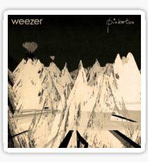 weezer pinkerton radiohead kid a Sticker