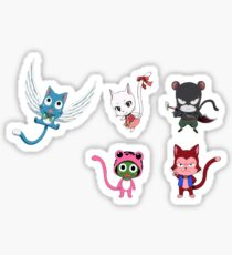 Fairy Tail Cats Sticker