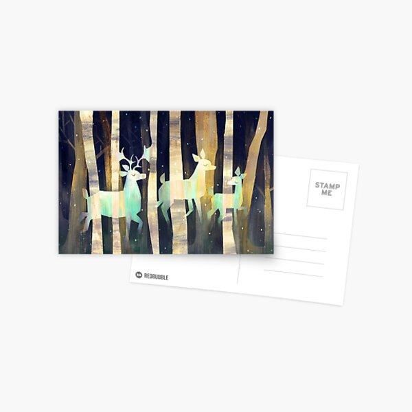 Ghost Deer Postcard