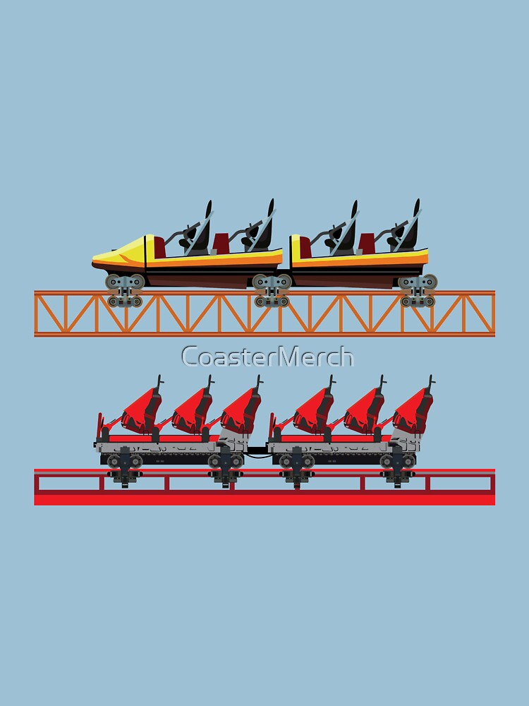 Holiday Park Coaster Car Design - Expedition GeForce! by CoasterMerch