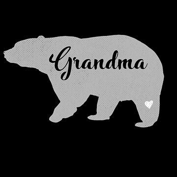 Grandma Bear Gift Best Grandmother Appreciation by modernmerch
