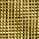 Golden Zig Zag Weave by Eric Pauker