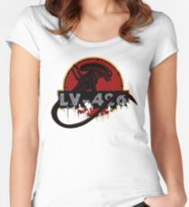 LV-426 Women's Fitted Scoop T-Shirt