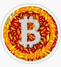Bitcoin crypto blockchain Sticker