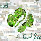 Proud Girl Scout by Jennifer Frederick