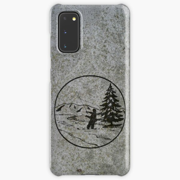 fly fishing Samsung Galaxy Snap Case