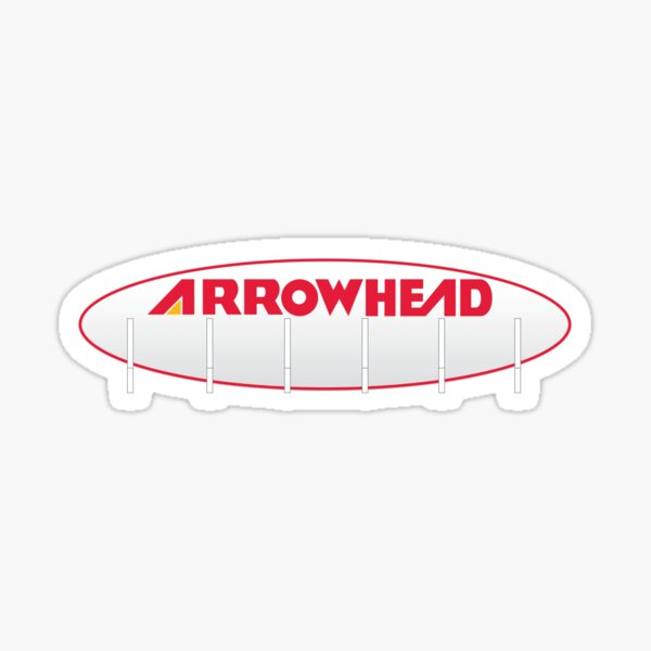 Arrowhead Stadium Scoreboard Sticker