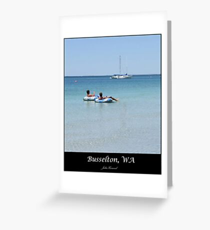 Busselton, WA Greeting Card