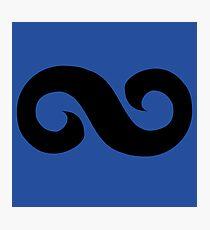 Hue Azure Costume Symbol Photographic Print