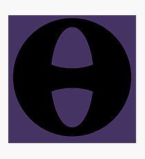 Hue Violet Costume Symbol Photographic Print