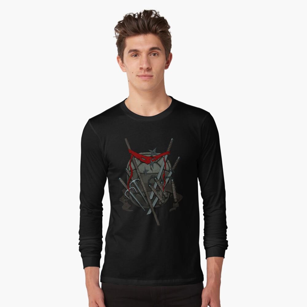 Ninja Weg Langarmshirt