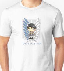 Camiseta unisex Levi Ackerman