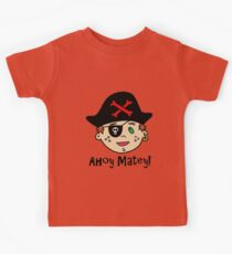 Pirate Kid: Ahoy, Matey! Kids Clothes