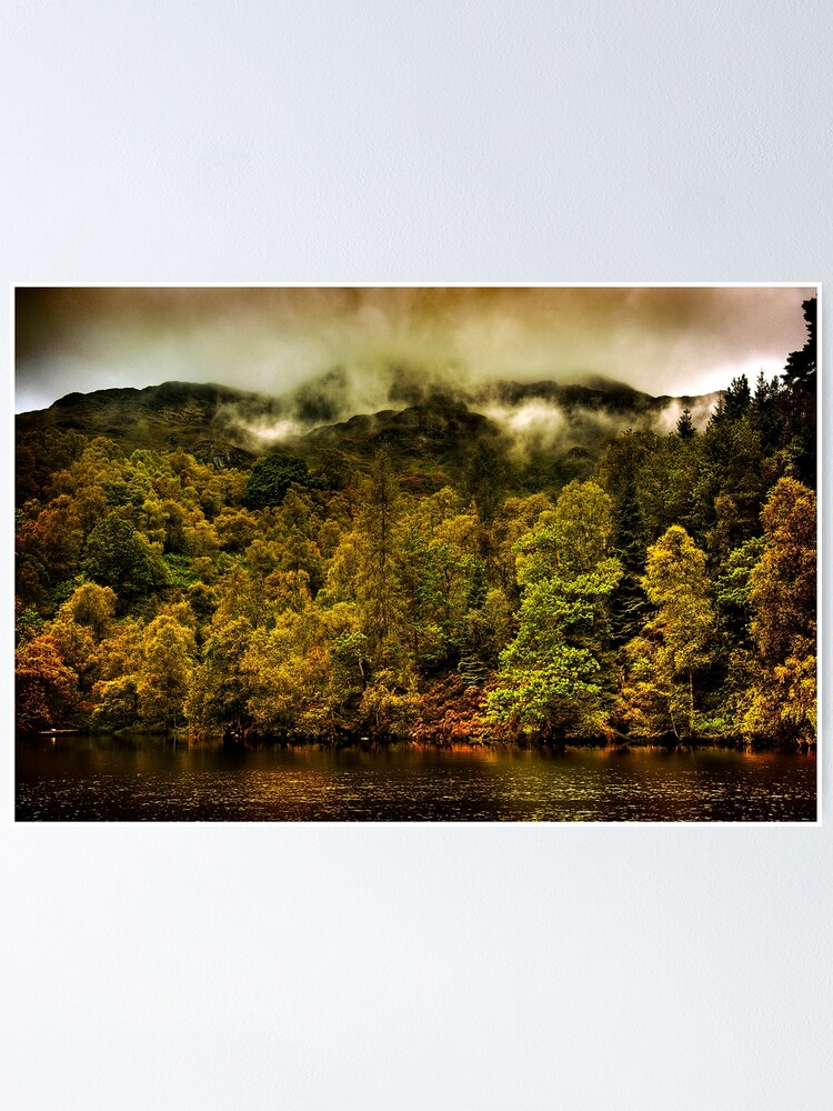 Alternate view of Autumn Mists Poster