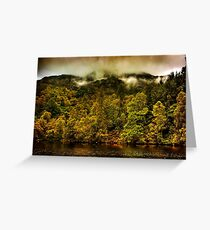 Autumn Mists Greeting Card