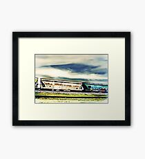 Old things in a modern world. Framed Print
