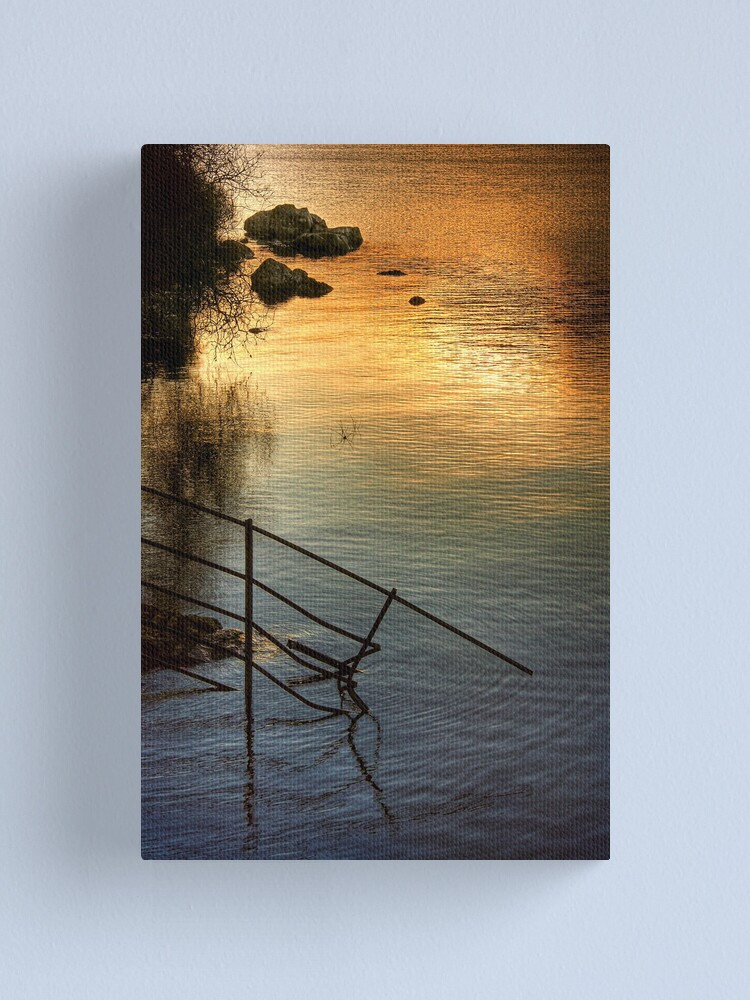 Alternate view of Arklet Light Canvas Print