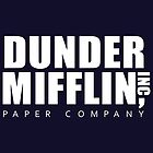 Dunder Mifflin (The Office) Papierfirma (klassisches Logo) von 1337designs