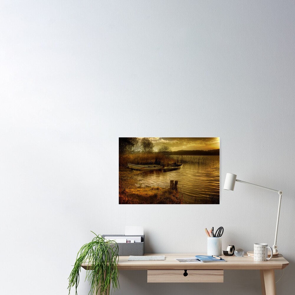 The Boats Poster