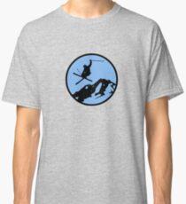 skiing 3 Classic T-Shirt