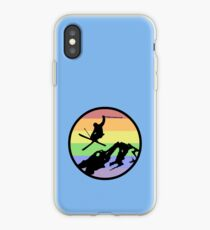 skiing 2 iPhone Case