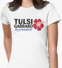 Tulsi Gabbard for President 2020 Women's Fitted T-Shirt