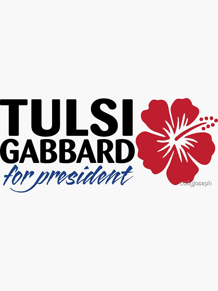 Tulsi Gabbard for President 2020 by codyjoseph